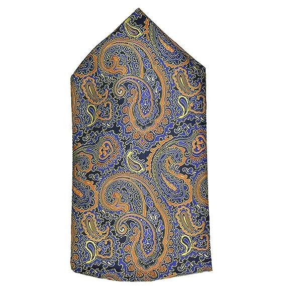 ZOYLINK Pañuelo para Hombre Vintage Paisley patrón Decorativo Auto ...