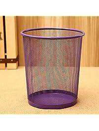 Julvie Steel Round Wastebasket ...