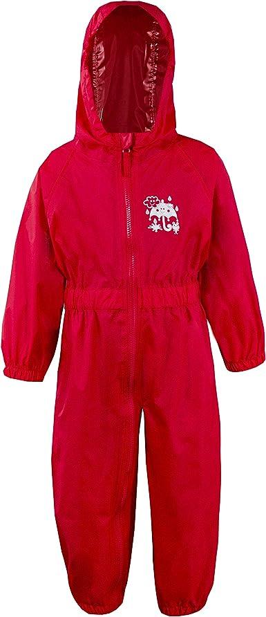 Metzuyan - Traje de nieve impermeable con capucha para niños ...