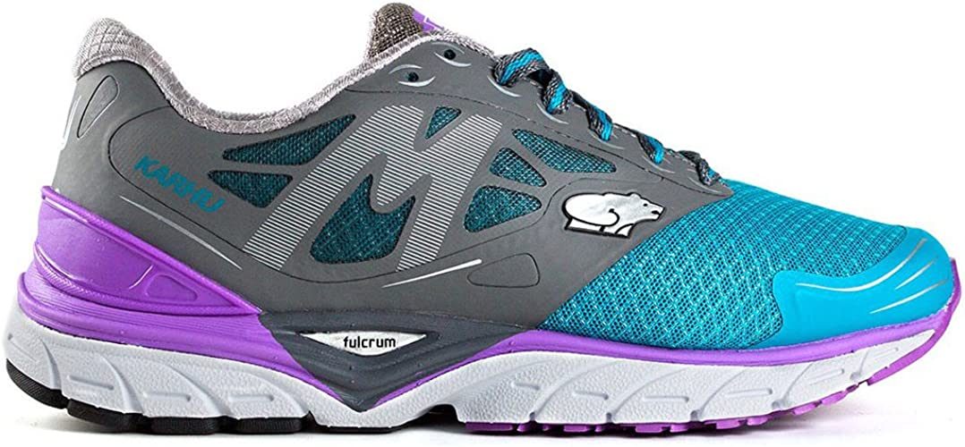 Karhu Fast 6 MRE Womens (6,5 USA - 37,5 EUR) (Charcoal/Bellflower): Amazon.es: Zapatos y complementos