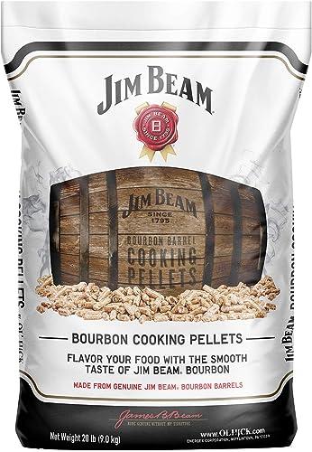 Ol'-Hick-Cooking-Pellets-Genuine-Jim-Beam-Bourbon-Barrel-Grilling-Smoker-Cooking-Pellets
