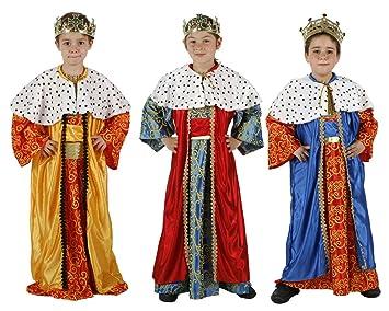 Atosa - Disfraz de Rey Mago niño t-2: Amazon.es: Juguetes y juegos