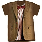 8a890f3f6 11th Doctor Who Fez And Bow Tie Kit Costume Matt Smith Adult Mens Dr ...