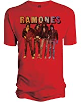 Universal Music Shirts Ramones - Band Standing 0928055 Unisex - Erwachsene Shirts/ T-Shirts