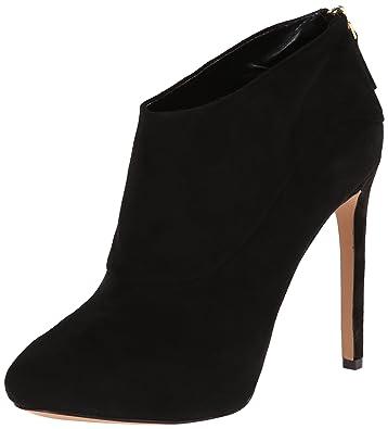 Sale Women Nine West Navajoe Black Suede boots 1JNve0kk