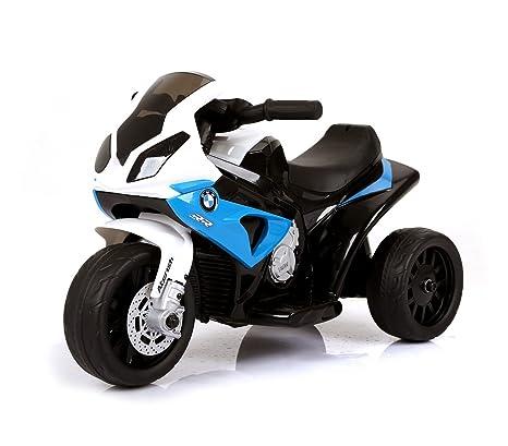 LT883 Motocicleta eléctrica para niños BMW luces LED 6V MP3 edad de 3 a 8 años