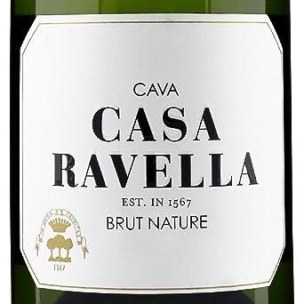 CASA RAVELLA Cava Brut Nature Reserva 75 cl - Pack 3 botellas: Amazon.es: Alimentación y bebidas