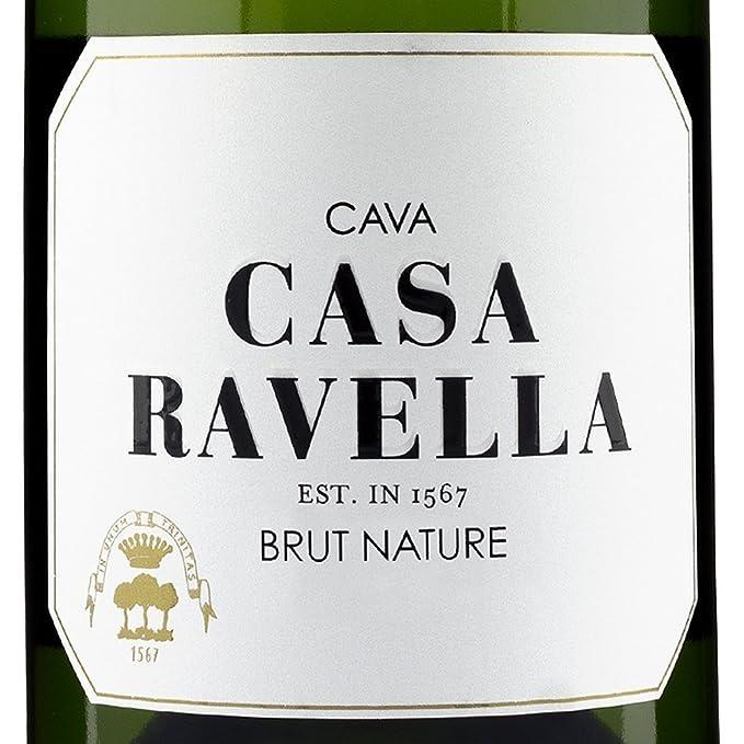 CASA RAVELLA Cava Brut Nature Reserva 75 cl - Pack 6 botellas: Amazon.es: Alimentación y bebidas