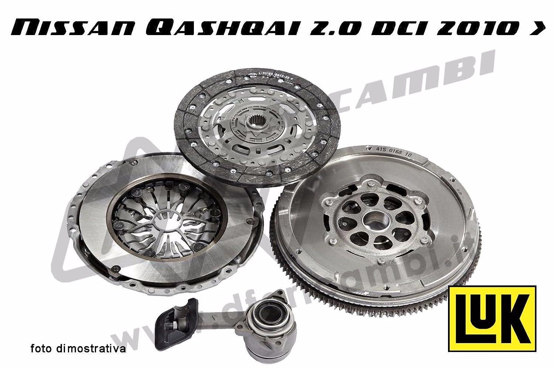 Kit Embrague + Volante + Rodamiento Hidráulico Luk kv0089 - 415039010 - 625303809 - 510011610: Amazon.es: Coche y moto