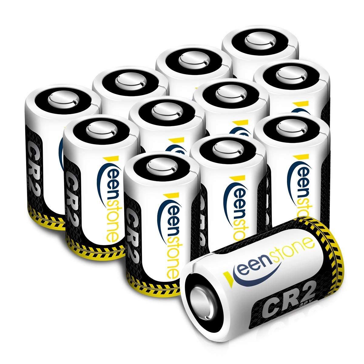 12 pcs Keenstone 3 V 850 mAh cr2リチウムバッテリー超高パフォーマンス – 低自己放電 – 高エネルギー密度with PTC保護された写真デジタルカメラビデオカメラおもちゃの懐中電灯トーチ B01JG4ZNP2