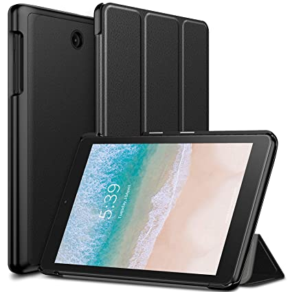 buy popular 57ebb 4055c Infiland T-Mobile Alcatel 3T 8 Tablet Case, Tri-Fold Cover Compatible with  T-Mobile Alcatel 3T 8 inch Tablet 2018 Release, Black