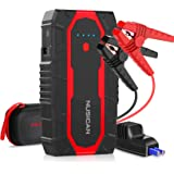 Car Battery Jump Starter, 1500A Powerful Power Pack Car Starter up to 7L Gas & 5.5L Diesel Engine, Nusican 12V Auto Car Jumpe