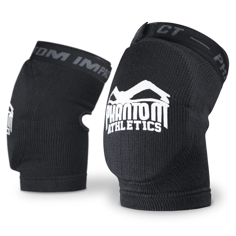 PHANTOM MMA coderas impacto , color Negro - negro, tamaño talla única PHEGIMPACT-S