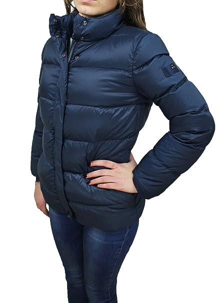 the best attitude 76fb0 283dd Piumino donna Peuterey blu art PED2271 giacca giubbotto ...
