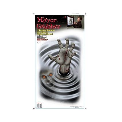 Decoración de Halloween monstruo gótico espejo: Amazon.es: Bebé