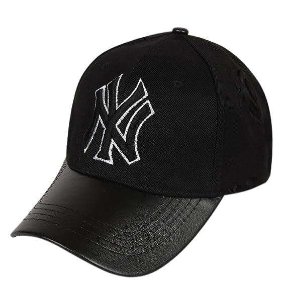 45e5b5b5 ILU NY Unisex Cotton Baseball Cap Black Freesize: Amazon.in: Clothing &  Accessories