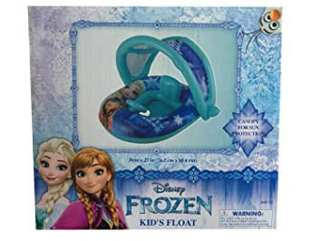 Disney Frozen Inflatable Kids Pool Float with Sun Canopy Ages 1 - 2  sc 1 st  Amazon.com & Amazon.com: Disney Frozen Inflatable Kids Pool Float with Sun ...