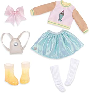 """Glitter Girls by Battat – Sweet Dazzle Tutu & Sweater Deluxe Outfit - 14"""" Doll Clothes & Accessories For Girls Age 3 & Up – Children's Toys"""