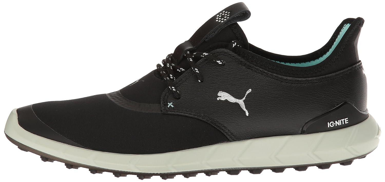 PUMA B(M) Women's Ignite Spikeless Sport WMNS Golf-Shoes B01GIRJQF8 8 B(M) PUMA US|Puma Black-puma Silver-aruba Blue 780e21