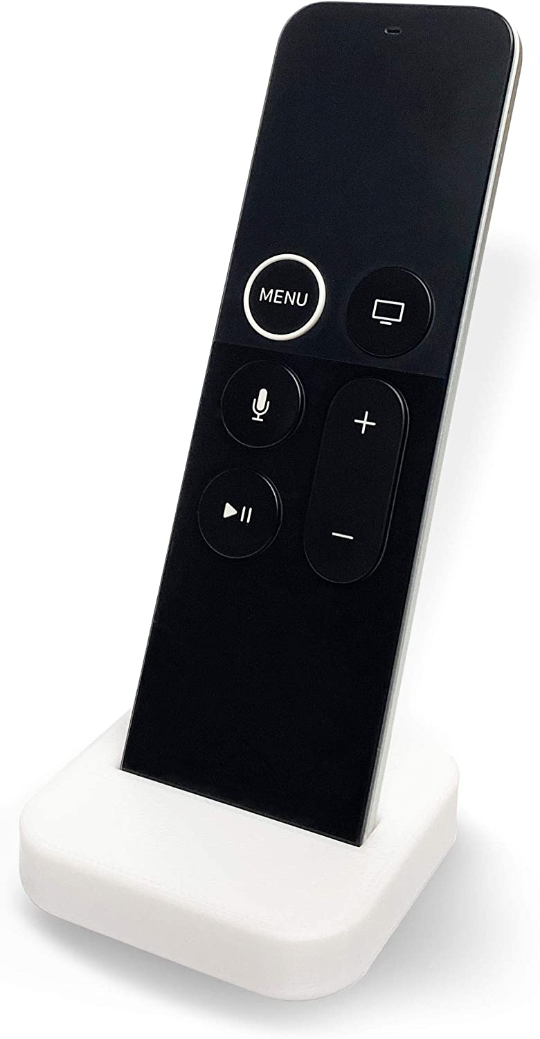 Cloud Stand - Apple TV Remote Stand, Compatible with 4K Siri and Original Remote, Minimal and Simple Design