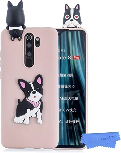 CUSTODIA COVER MORBIDA IN TPU SILICONE PER XIAOMI REDMI NOTE 8 PRO FANTASIA C