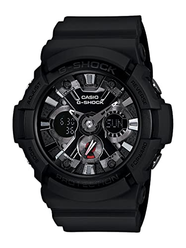 3ef43ac44 Amazon.com  Casio Men s GA201-1 G-Shock Shock Resistant Sport Watch With  Black Resin Band  Casio  Watches