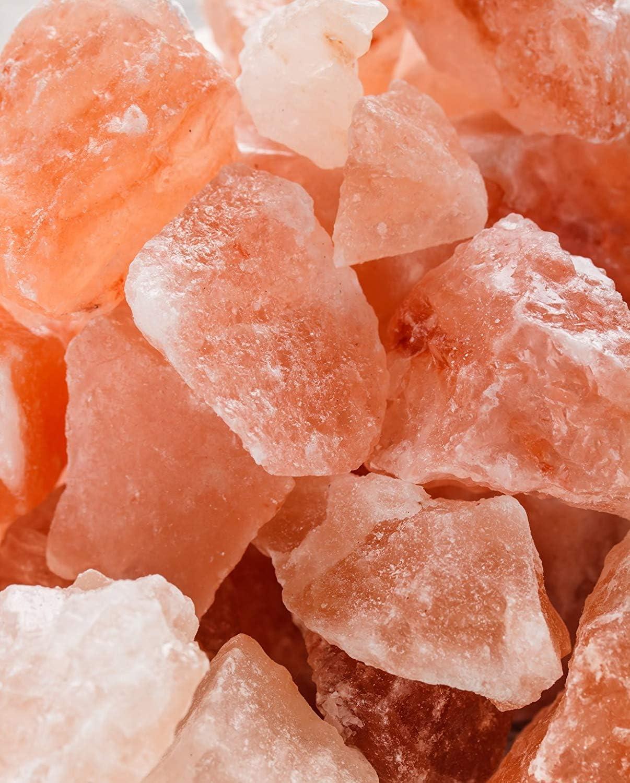 2 kg Himalaya* Salz Salzkristall Salzbrocken Saunazubehör Sauna Saunasalz