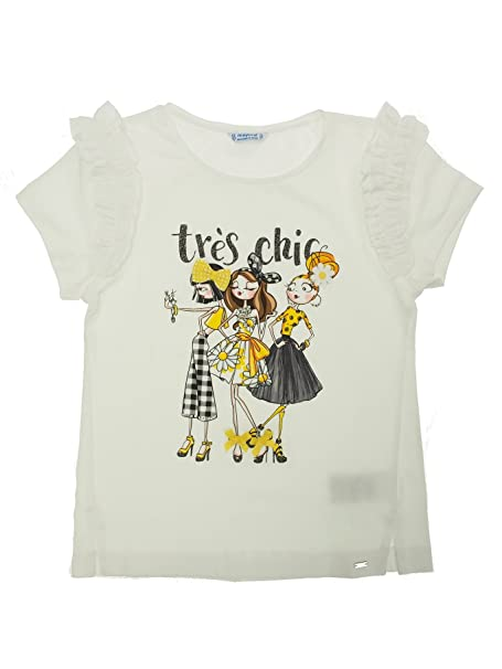 4d70329241bd70 Amazon.com  Mayoral 28-06030-024 - S s Girl t-Shirt for Girls 16 ...