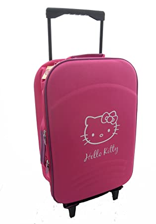 Amazon.com: Hello Kitty Viaje Vuelo Cabina Bolsa con Ruedas ...