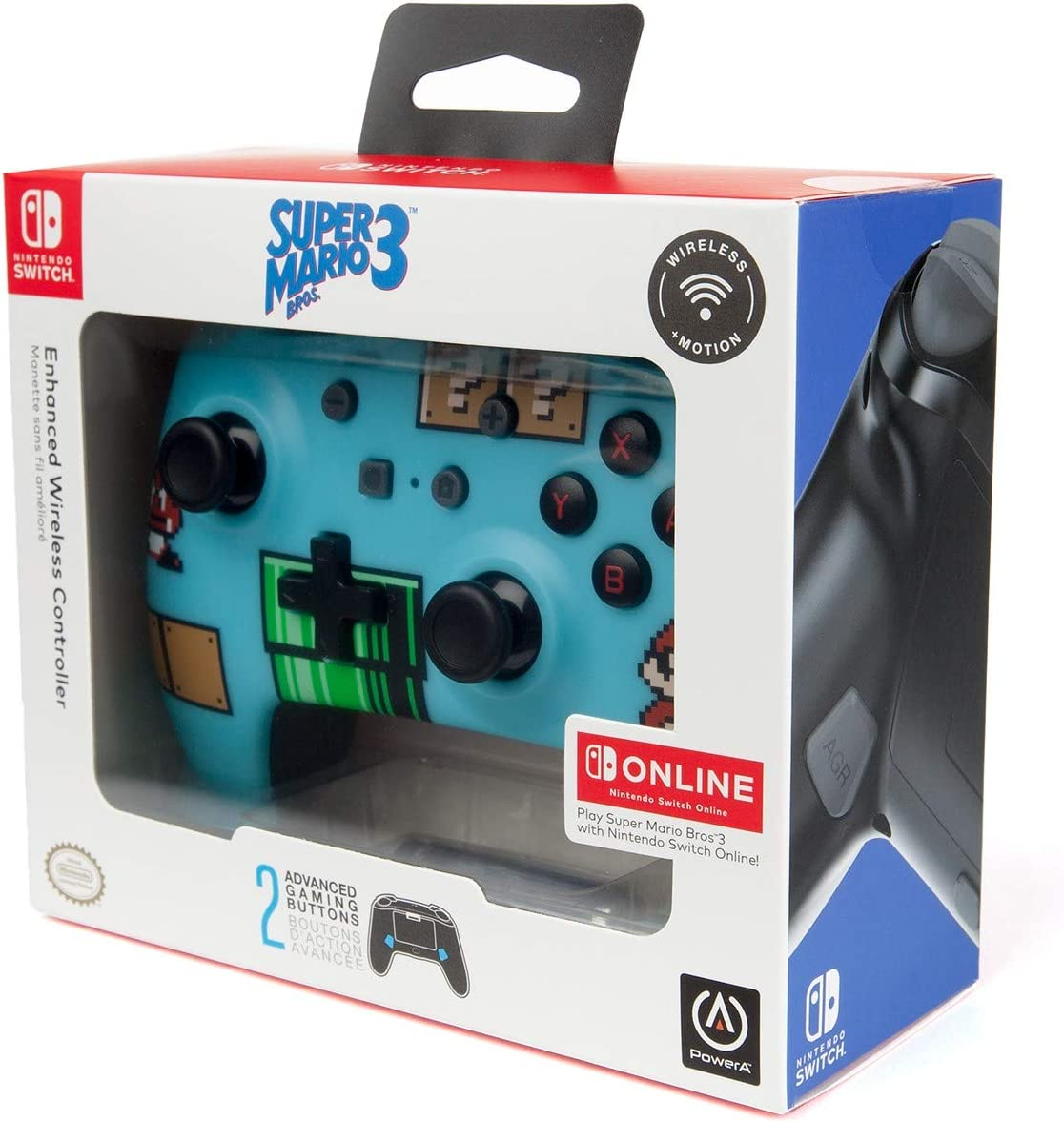 Mando Inalámbrico Mejorado Super Mario Bros 3 (Nintendo Switch): Amazon.es: Videojuegos