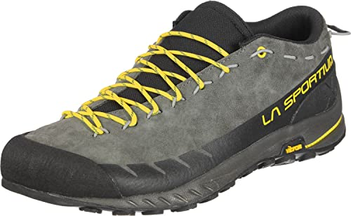 La Sportiva TX2 Leather, Zapatillas de Senderismo para Hombre, (Carbon/Yellow 000