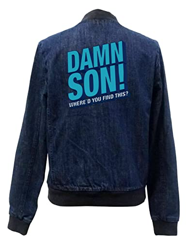 Damn Son Bomber Chaqueta Girls Jeans Certified Freak