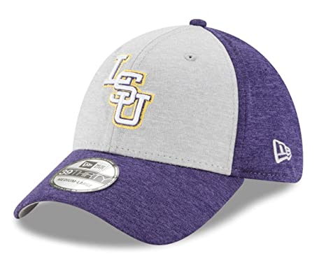 90cb21e901d Image Unavailable. Image not available for. Color  LSU Tigers New Era NCAA  39THIRTY  quot Shaded Classic quot  Flex Fit Hat