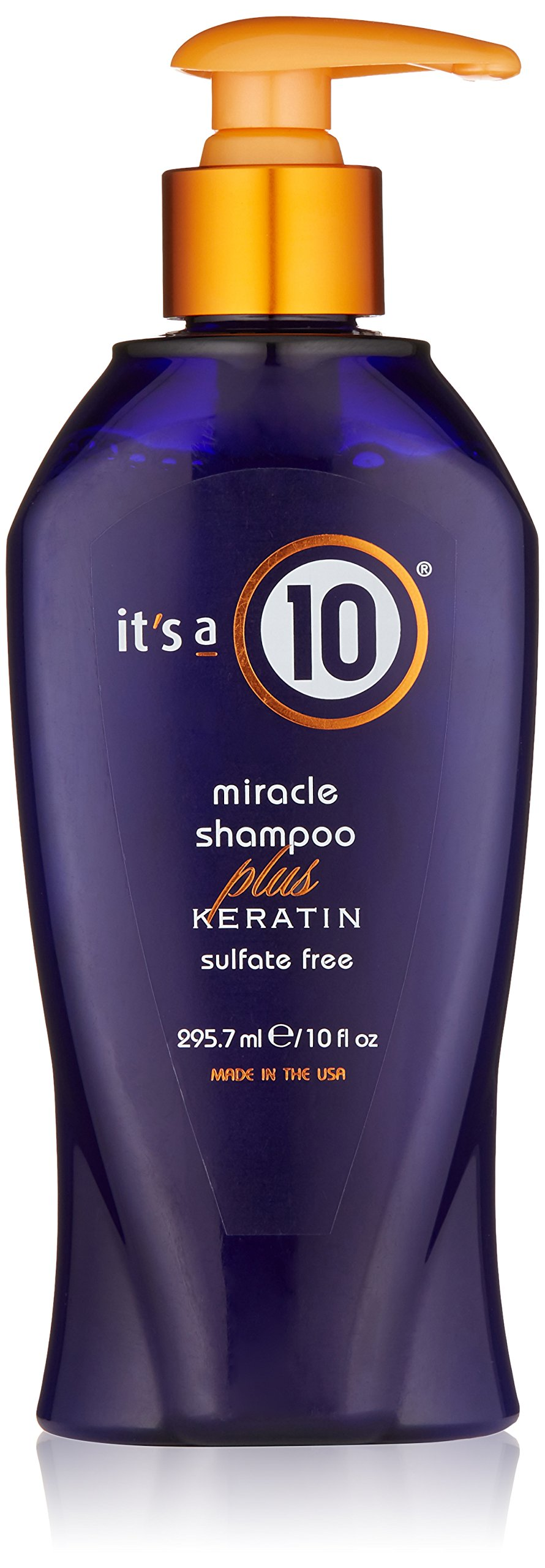 it's a 10 Miracle Shampoo plus Keratin 10 oz