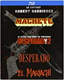 Robert Rodriguez Collection - 4-Disc Box Set ( Machete / Once Upon a Time in Mexico / Desperado / El Mariachi ) ( Machete / Legend of Mexico / Pistolero / El Mar [ Blu-Ray, Reg.A/B/C Import - France ]