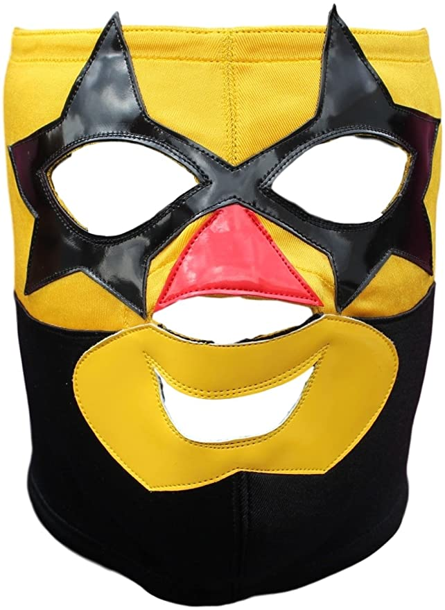 Amazon.com: Super Muñeco Professional Luchador Lucha Libre Mask Adult Size - Premium Quality: Clothing