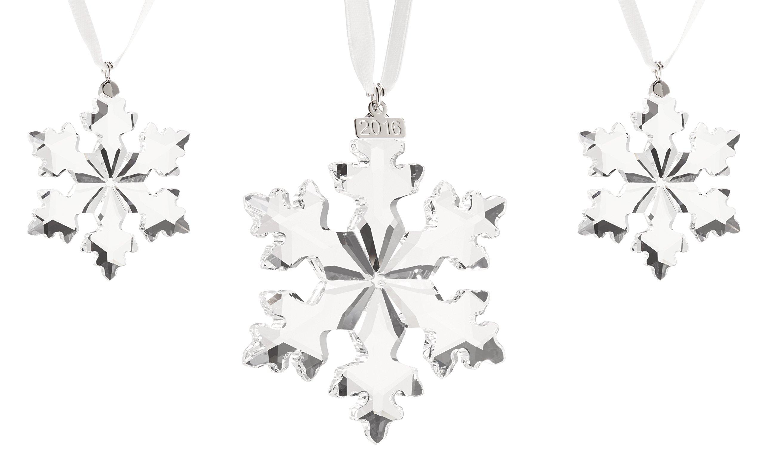Swarovski 3-Piece Christmas Ornament Set, Limited Edition 2016