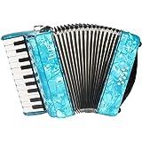 ammoon ピアノアコーディオン アコーディオン 8ベース 22鍵 独奏用