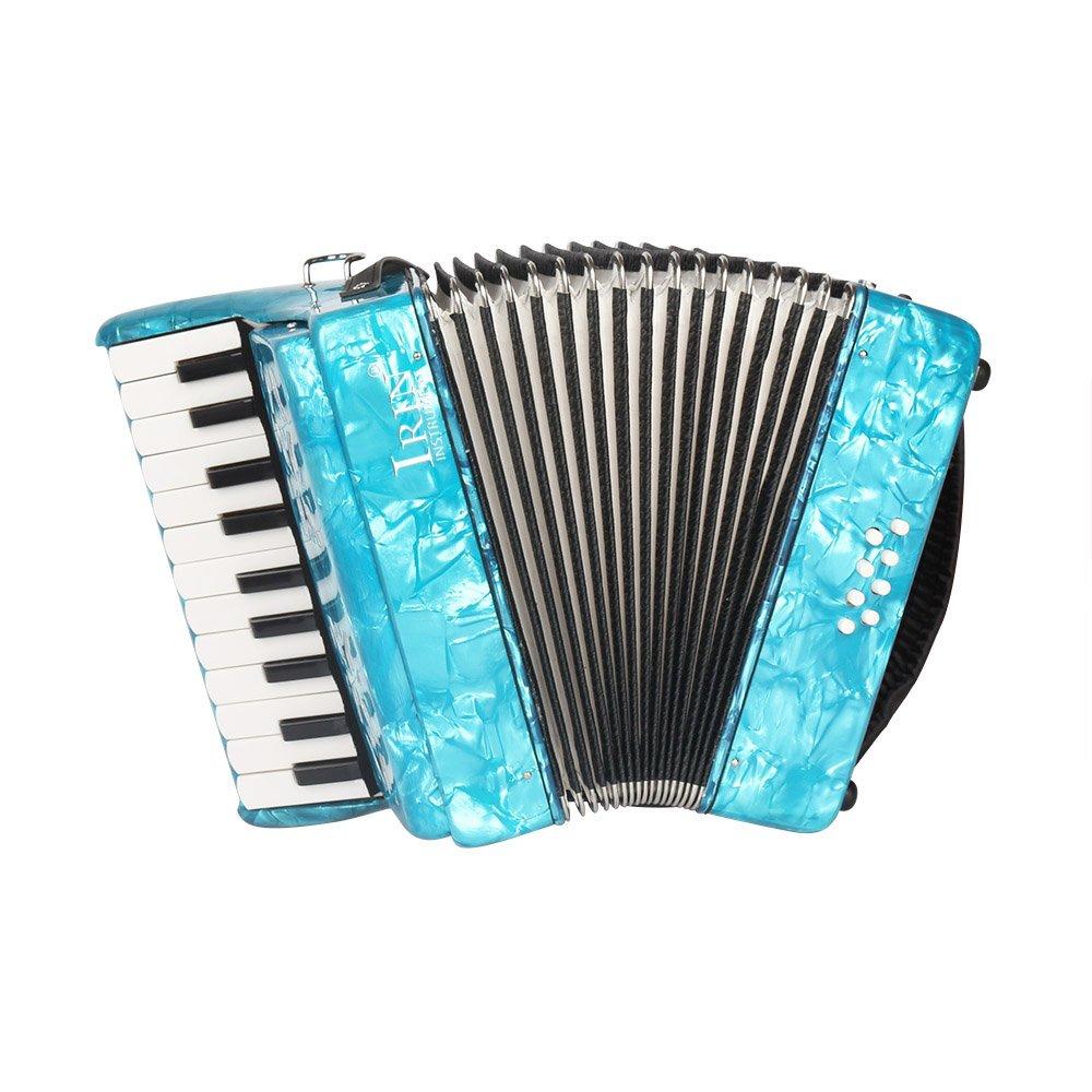 ammoon 初心者入門4セットピアノアコーディオン アコーディオン 8ベース 22鍵 楽器 独奏用B01NAPZY31