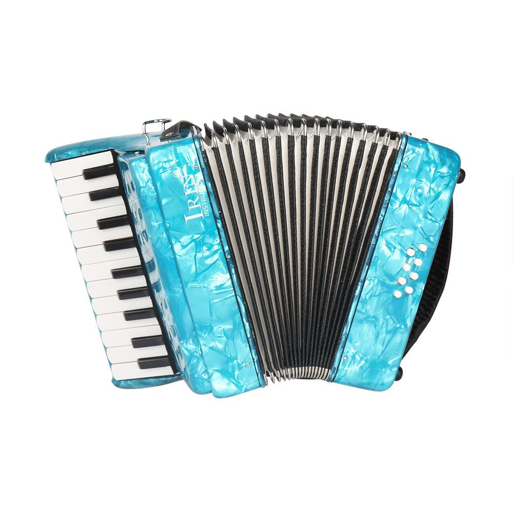 ammoon 22-Key 8 Bass Piano Accordion with Straps Gloves Cleaning Cloth Educational Music Instrument for Students Beginners Childern by ammoon (Image #2)