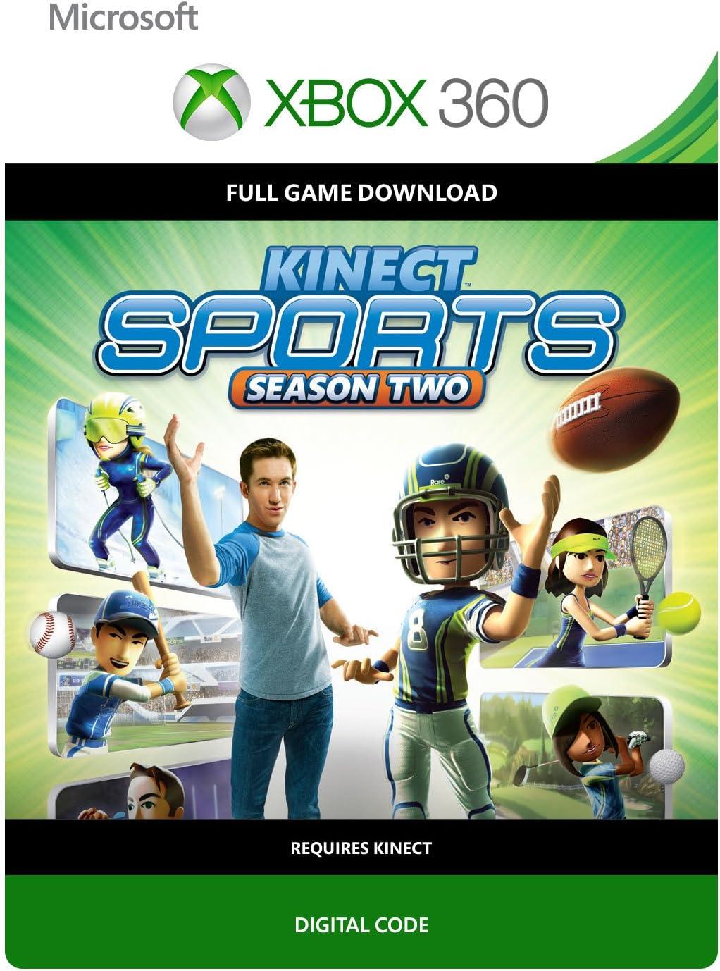 Amazon.com: Kinect Sports Season 2 - Xbox 360 Digital Code ...
