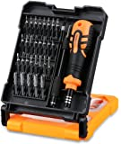 Precision Screwdrivers Set, FLOUREON 33 in 1 Mini Magnetic Screwdriver Kit Set of Torx,Flat,Hex,Phillips,Pentalobe,Nut Drivers Electronics Repair Tool Kits for Glasses, Watches, iphone,Laptop,PC,ipad