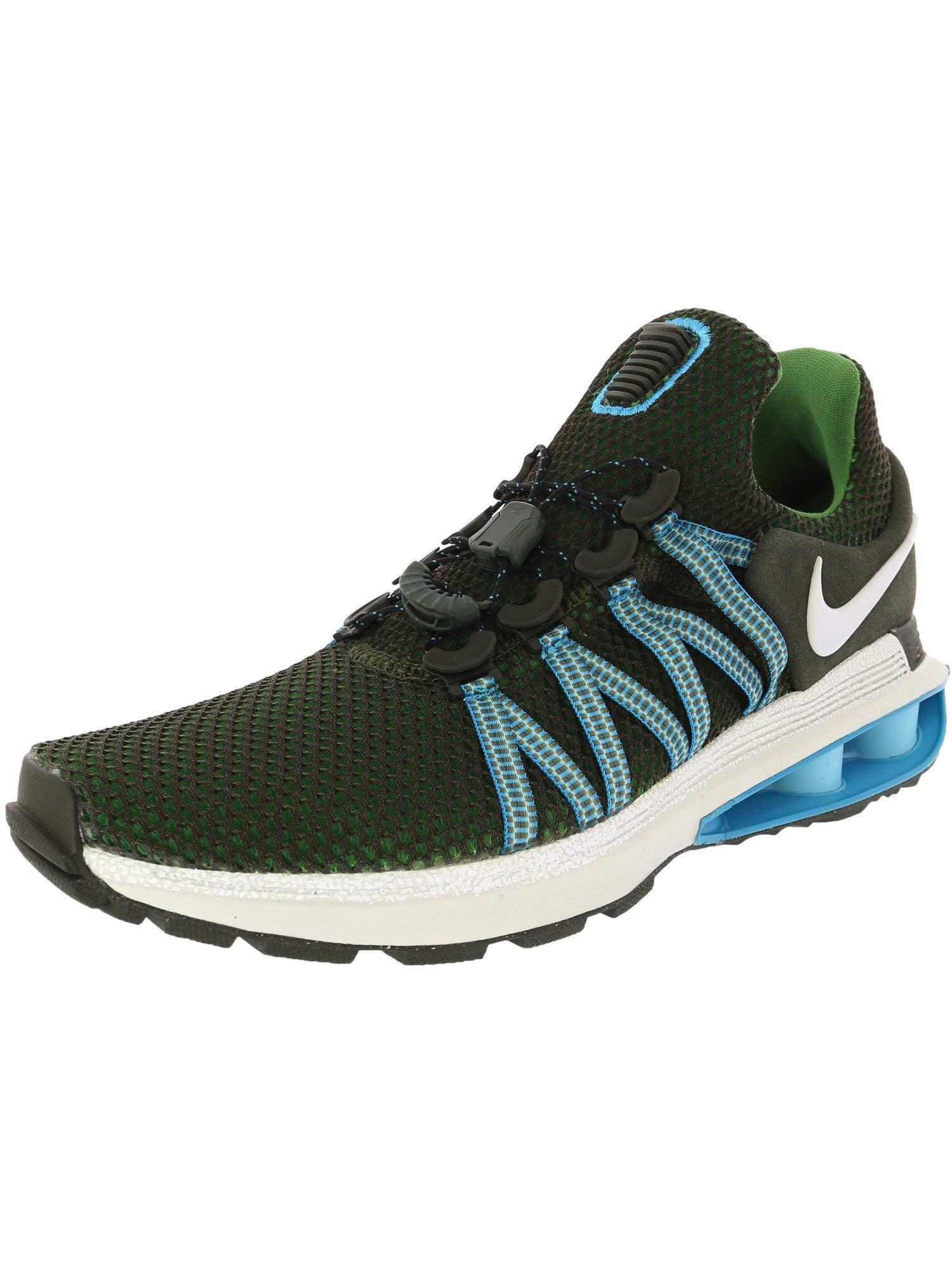 Nike Men's Shox Gravity Sequoia/White - Off Ankle-High Running Shoe 6M