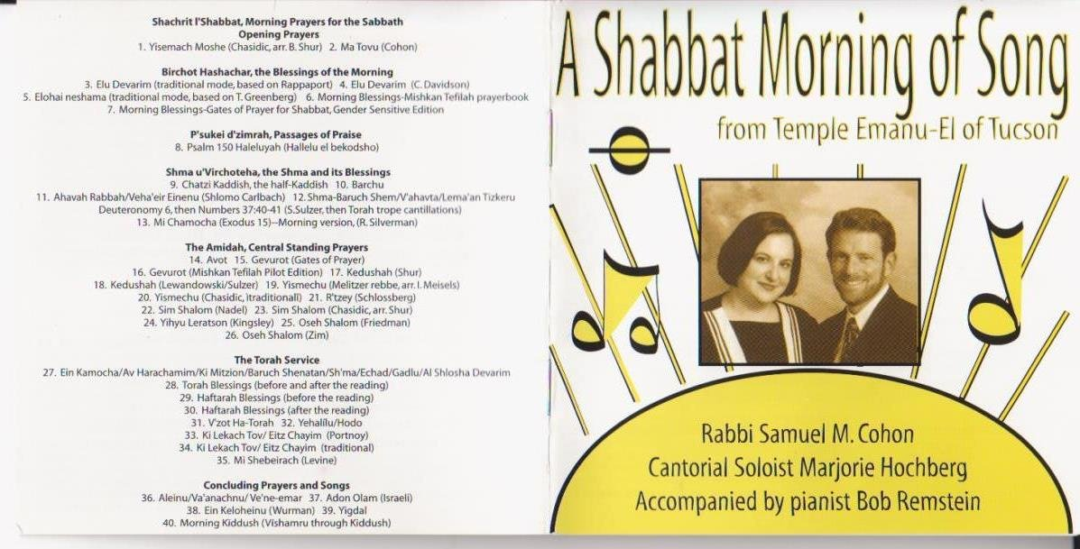 A Shabbat Morning of Song from Temple Emanu-El of Tucson