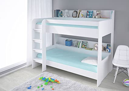 Polini Kids letto a castello 5000 Bianco 1576.9: Amazon.it: Prima ...