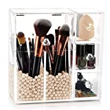 hblife Makeup Brush Holder, Acrylic Makeup