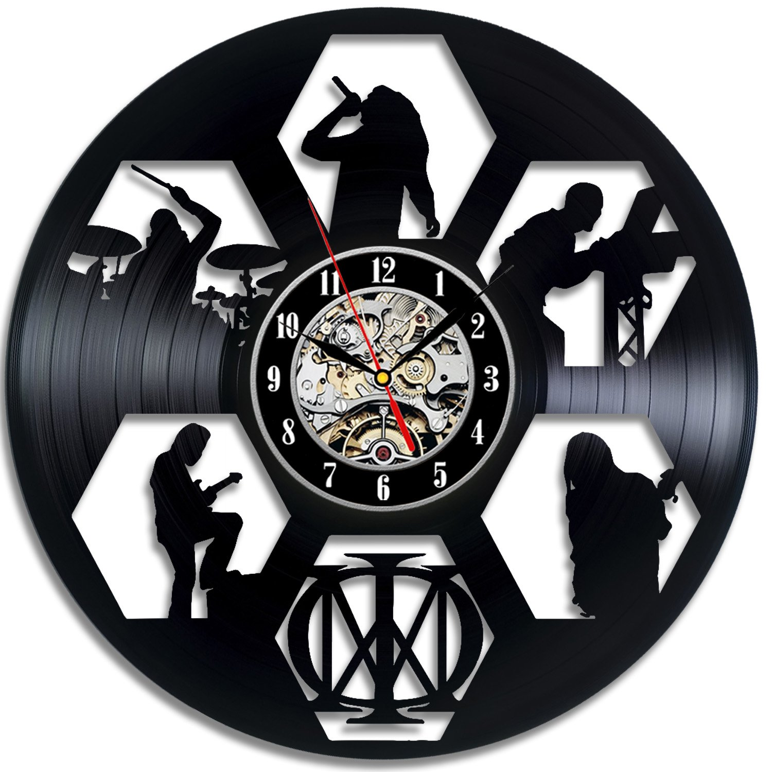 Dream Theatre Art Vinyl Wall Clock Gift Room Modern Home Record Vintage Decoration VE476