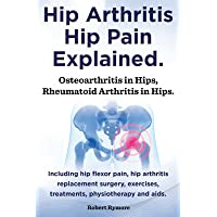 Hip arthritis, hip pain explained. Osteoarthritis in hips, rheumatoid arthritis in hips. Including hip arthritis surgery, hip flexor pain, , exercises, treatments, physiotherapy and aids.