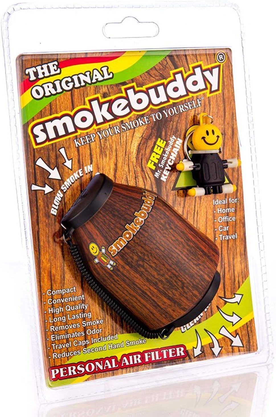 Grenade Smoke Buddy Grenade Air Purifier Includes Keychain /& Free WENEED Doob Tube Original Portable Filter Removes Odor R