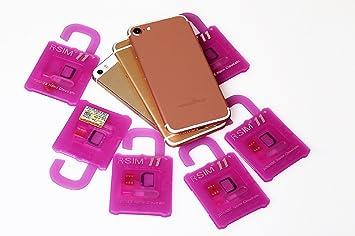 R-SIM 11 para iOS 10.x for ALLiPhone Unlok Card hasta 7plus ENVIO DESDE ESPAÑA: Amazon.es: Electrónica